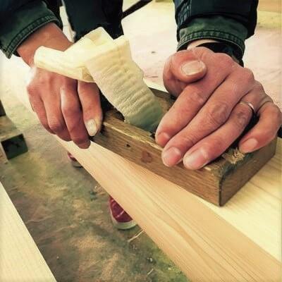 テキスタイボード: 木枠